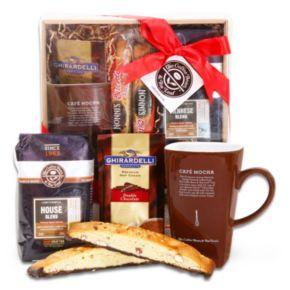 Alder Creek Coffee Bean & Tea Leaf Delights Gift Basket