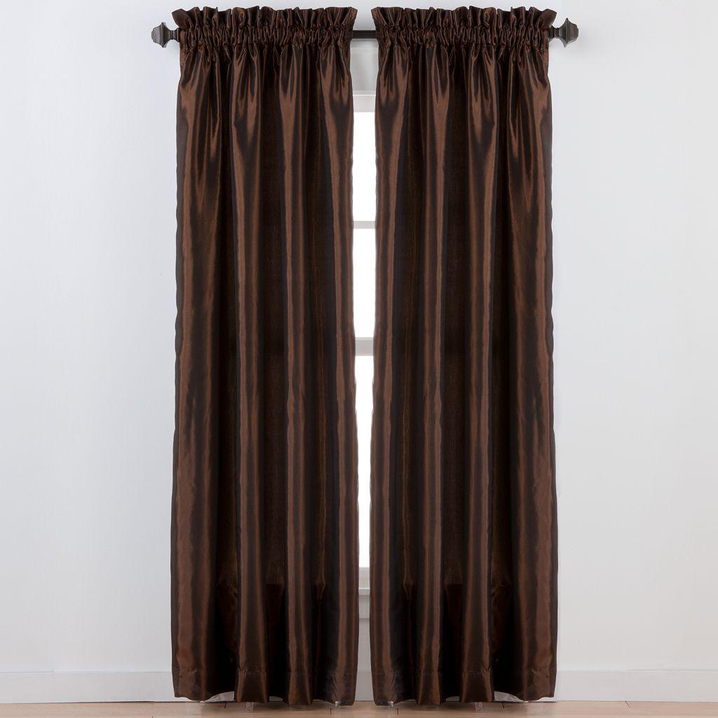 Beatrice Home Fashions Tafetta Window Curtain