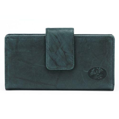 Buxton Heiress Metropolitan Leather Wallet