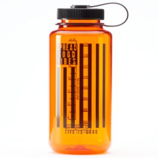 "Life is Good ""Spread Good Vibes"" Tritan Water Bottle"