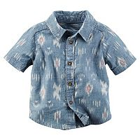 Baby Boy Carter's Tribal Chambray Shirt