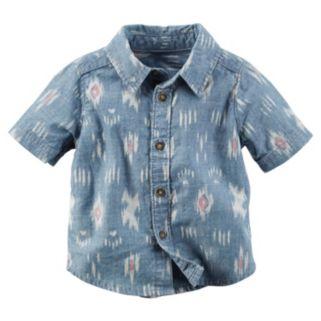 Baby Boy Carter's Tribal Chambray Shirt