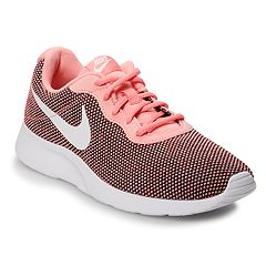 8bc88d32b9384 Nike Tanjun Women s Athletic Shoes. Black White ...