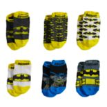 Toddler Boy Justice League 6 pkCrew Socks