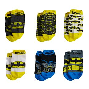 Toddler Boy DC Comics Batman 6-pack Crew Socks