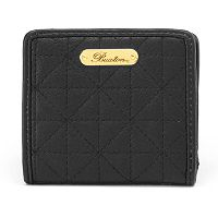 Buxton Diamond Quilted Wallet