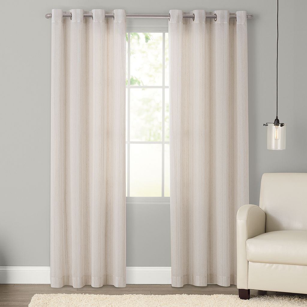 SONOMA Goods for Life™ Naturals Princeton Curtain