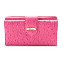 Buxton Ostrich Brights Go-To Super Wallet