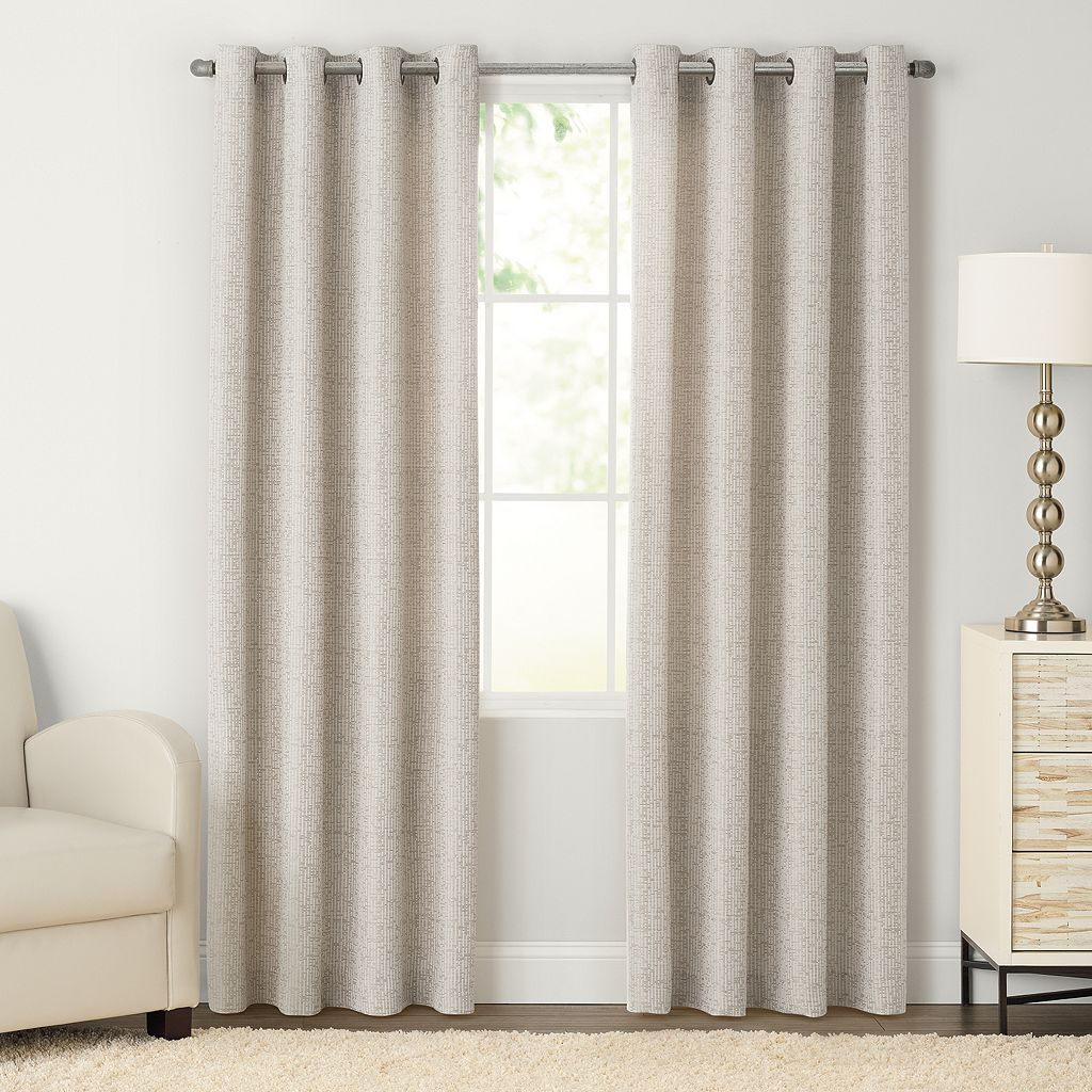 SONOMA Goods for Life™ Naturals Morsecode Curtain