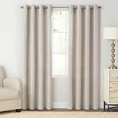 SONOMA Goods for Life™ 1-Panel Naturals Morsecode Window Curtain