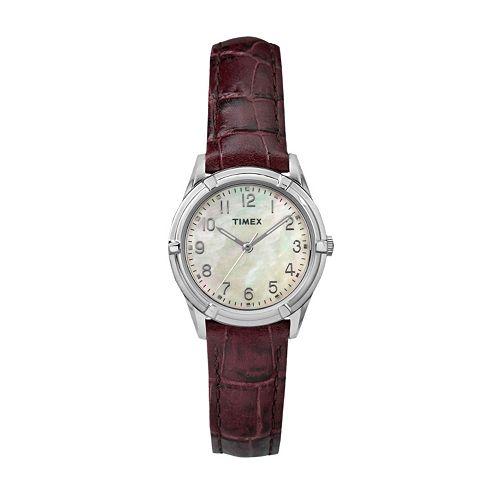 Timex Women's Easton Avenue Leather Watch - TW2P763009J