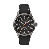 Timex Men's Expedition Scout Leather Watch - TW4B019009J