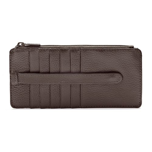 Buxton Hudson Pik-Me-Up Slim Wallet
