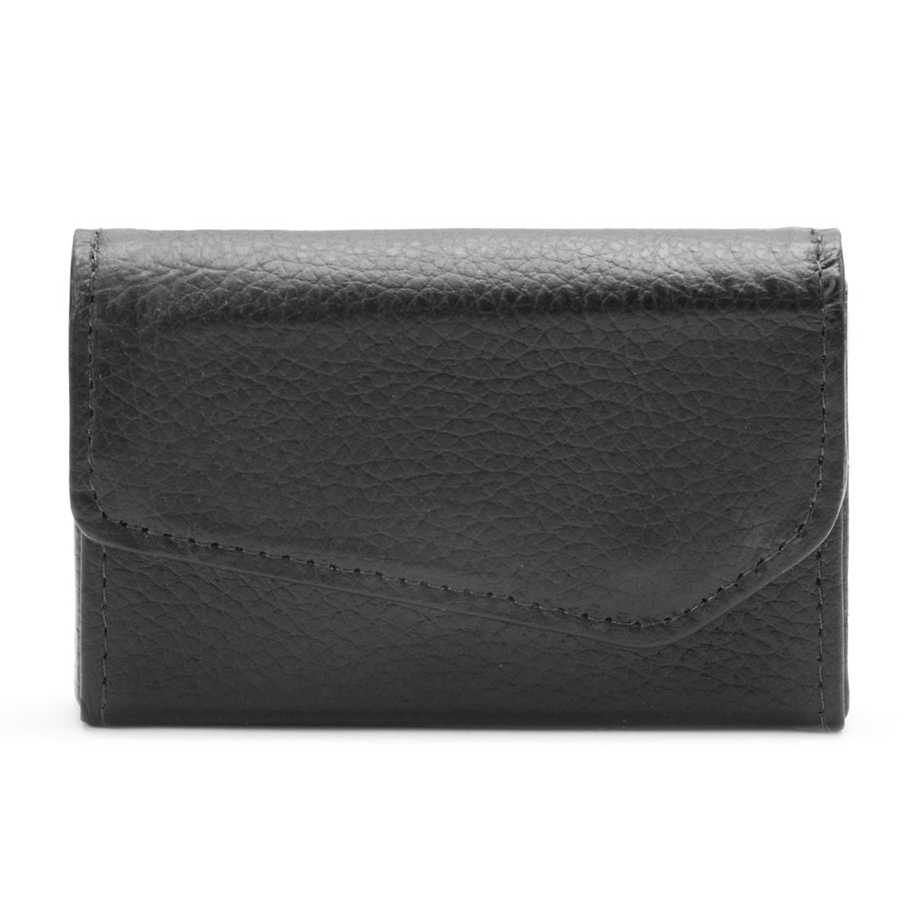 Buxton Hudson Pik-Me-Up Leather Business Card Wallet