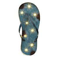 LED Flip Flop Marquee Wall Decor