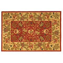 Safavieh Chelsea Floral Border Hand Hooked Wool Rug