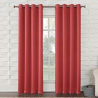 Sun Zero Gramercy Grommet Room Darkening Window Curtain