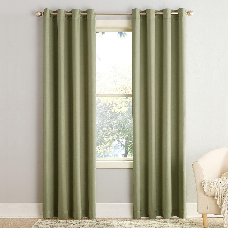 green living room curtains drapes window treatments home decor rh kohls com
