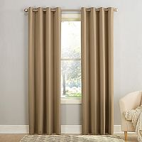 Sun Zero Gramercy Grommet Room Darkening Window Curtain