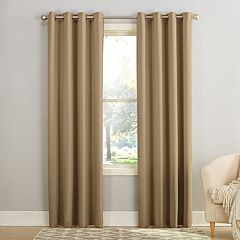 Sun Zero 1-Panel Gramercy Grommet Room Darkening Window Curtain