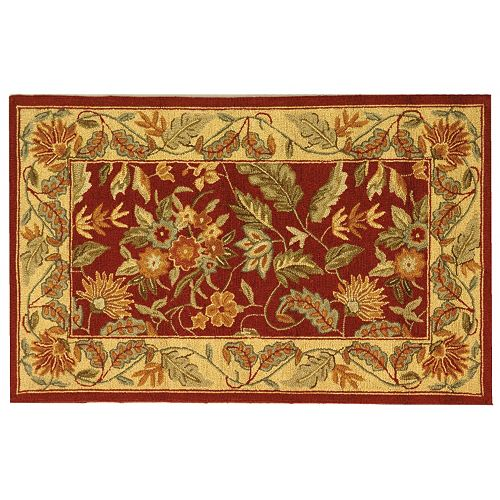 Safavieh Chelsea Bouquet Floral Hand Hooked Wool Rug