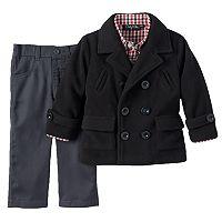 Only Kids Apparel Toddler Boy Peacoat & Pants Set