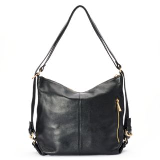 Leatherbay Messina Small Convertible Tote