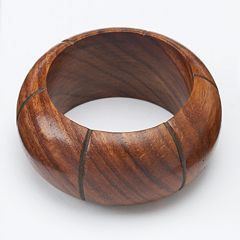 Food Network™ Wood Sections Napkin Ring