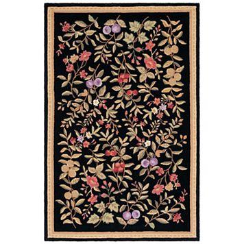 Safavieh Chelsea Blossom Framed Floral Wool Rug Runner - 2'6'' x 12'