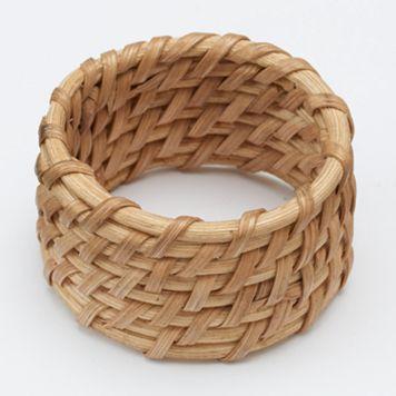 Food Network™ Rattan Cane Napkin Ring