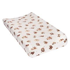 Trend Lab Zoo Animal Flannel Changing Pad Cover