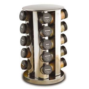 Kamenstein 20-Jar Revolving Spice Rack