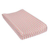 Trend Lab Chevron Flannel Changing Pad Cover