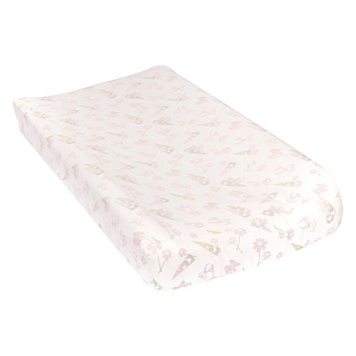 Trend Lab Gnomes Flannel Changing Pad Cover