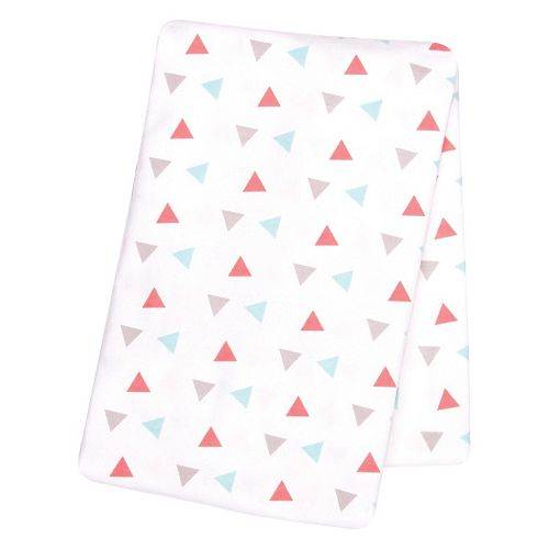 Baby Girl Trend Lab Printed Flannel Swaddle Blanket