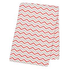Trend Lab Chevron Flannel Swaddle Blanket