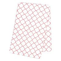 Trend Lab Quatrefoil Flannel Swaddle Blanket