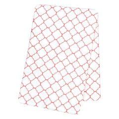 Trend Lab Quatrefoil Flannel Swaddle Blanket