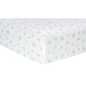 Trend Lab Holiday Flannel Fitted Crib Sheet