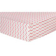 Trend Lab Chevron Flannel Fitted Crib Sheet