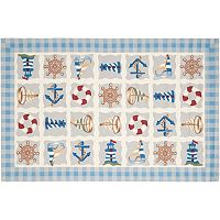 Safavieh Chelsea Nantucket Nautical Hand Hooked Wool Rug