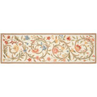 Safavieh Chelsea Floral Vine Hand Hooked Wool Rug