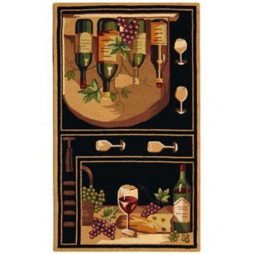 Safavieh Chelsea Chianti Framed Wool Rug