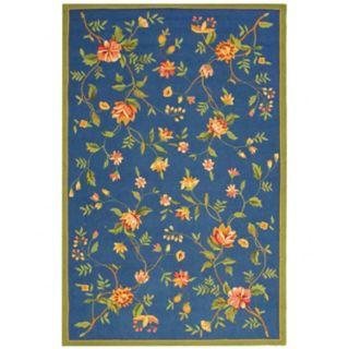 Safavieh Chelsea Floral Leaves Framed Wool Rug - 2'6'' x 4'