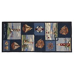 Safavieh Chelsea Wellfleet Nautical Hand Hooked Wool Rug
