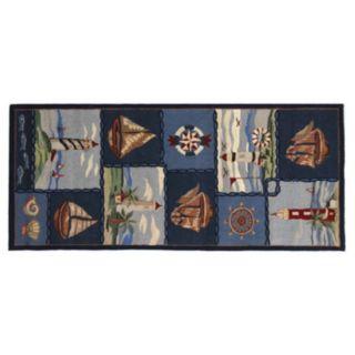Safavieh Chelsea Wellfleet Nautical Hand Hooked Wool Rug