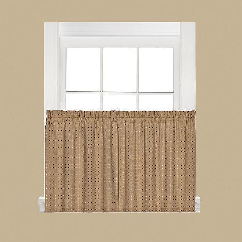 Saturday Knight, Ltd. Hopscotch Tier Curtain Pair