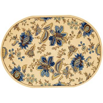 Safavieh Chelsea Vinca Framed Floral Wool Rug