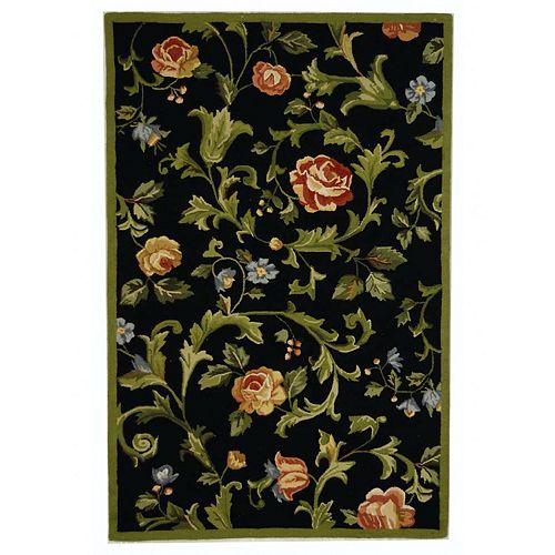 Safavieh Chelsea Floral Orchards Framed Wool Rug