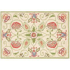 Safavieh Chelsea Marseille Floral Hand Hooked Wool Rug